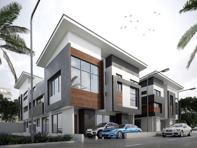 5 bedrooms wing of duplex with 2 rooms BQ., at 8, Bukanan Crescent , Maitama,  Abuja
